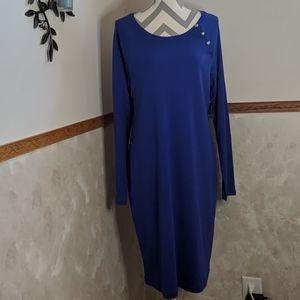 Ralph Lauren long sleeve dress XL